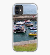Safe Harbour at Coverack  iPhone Case