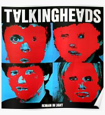 Bleib in Talking Heads Poster