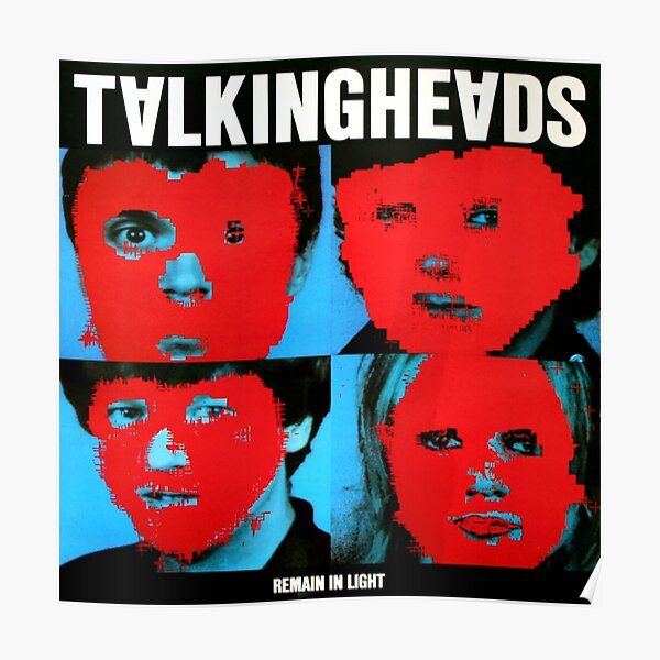 Remain in Talking heads Poster