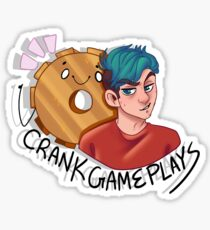 CrankGamePlays Sticker