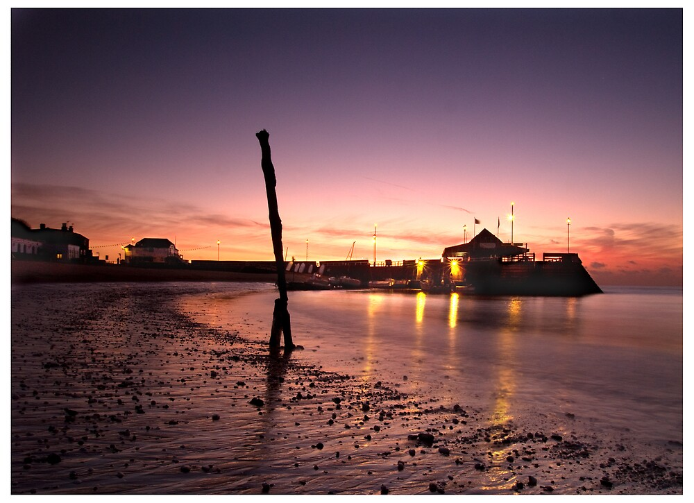 Broadstairs at sunrise by Paul Tremble