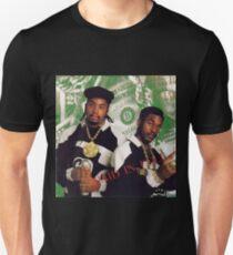 Camiseta unisex Eric B y Rakim: pagados por completo