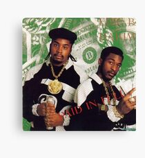 Eric B and Rakim - Paid in Full Canvas Print