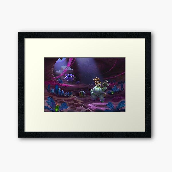 Space Biologist Framed Art Print