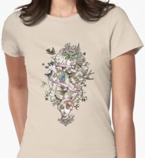 Her Wild Life Womens Fitted T-Shirt