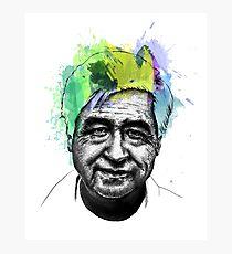 Cesar Chavez Portrait Art Photographic Print
