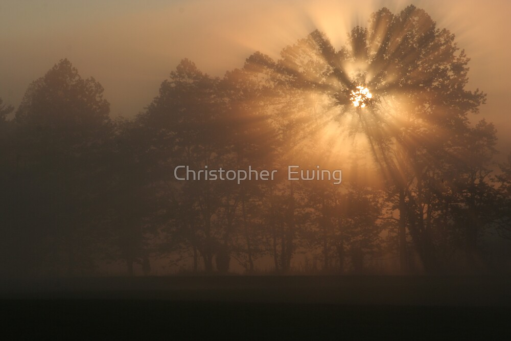 early morning rays by Christopher  Ewing