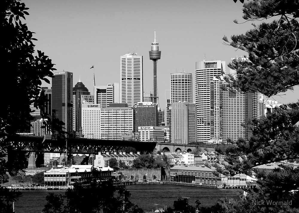 Sydney B&W by Nick Wormald