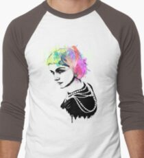 Coco Chanel Ink + Watercolor Portrait Art T-Shirt