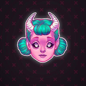 Demon Cutie by ribkaDory