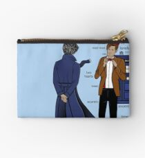 Sherlock meets the Doctor Studio Pouch