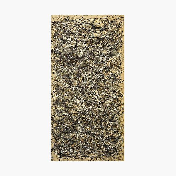 Jackson Pollock. One: Number 31 Photographic Print
