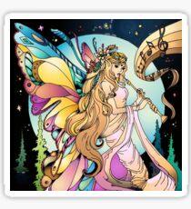 Flute Goddess Sticker