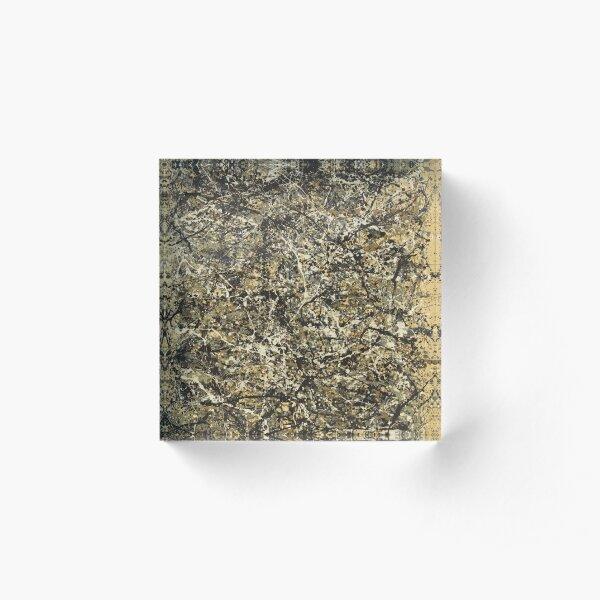 Jackson Pollock. One: Number 31 Acrylic Block
