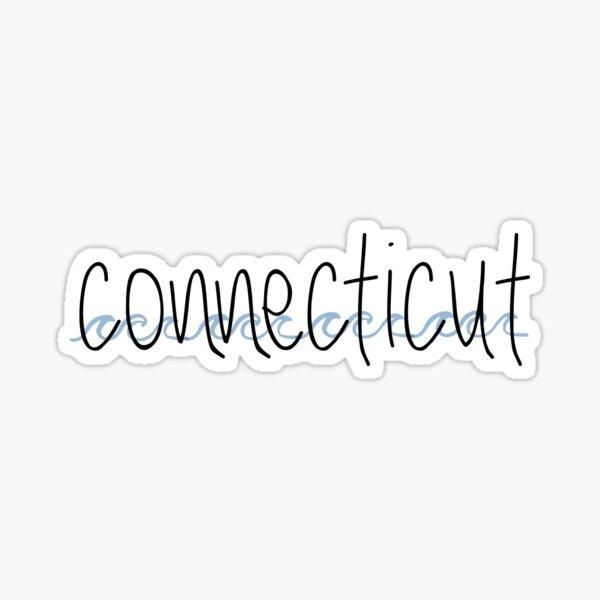 connecticut Sticker