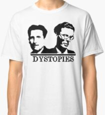 Dystopies - Orwell & Huxley Classic T-Shirt