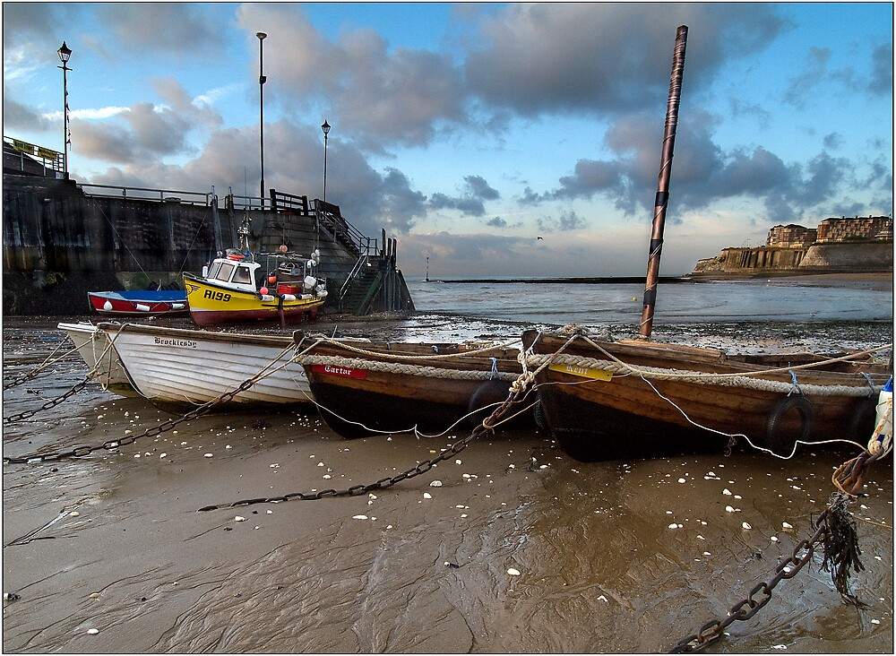 As the tide retreats by Paul Tremble
