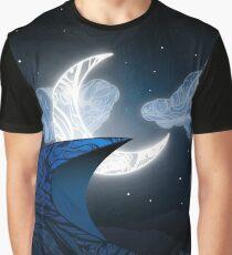 Zen Doodle Moonlit Dune Graphic T-Shirt