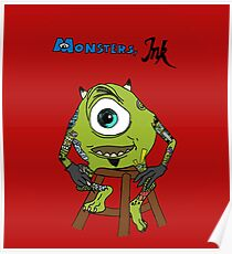 Monsters Ink Poster