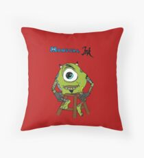 Monsters Ink Throw Pillow
