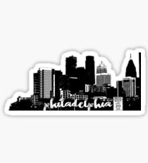 PHILADELPHIA SKYLINE | WEST PHILLY Sticker