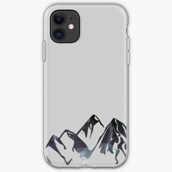 The Mountains iPhone Soft Case