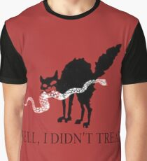 Don't Tread on Me Anarchist Graphic T-Shirt