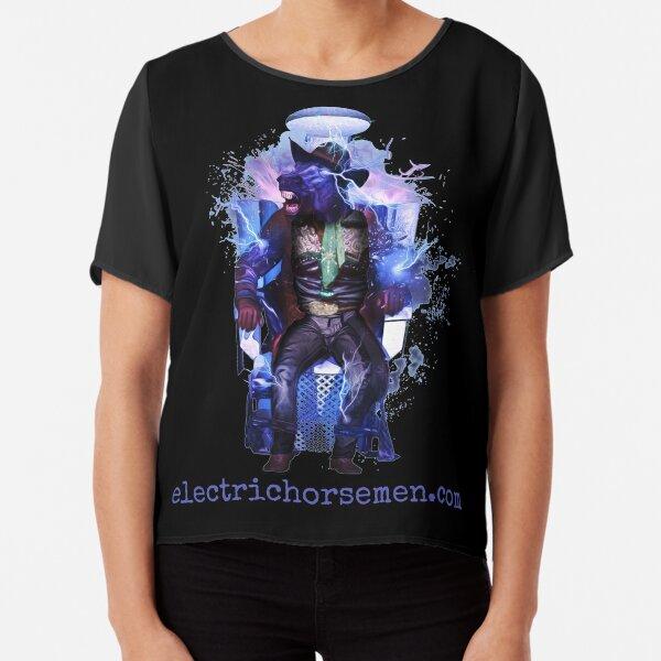 Electric Horsemen - Electrocuted Horseman Chiffon Top