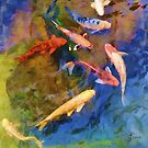 """""""Koi Fish"""" by kcd-designs"""