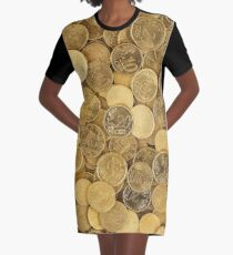 Cents of euro Graphic T-Shirt Dress