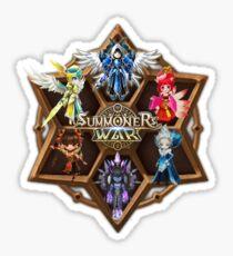 Monster Runes Sticker