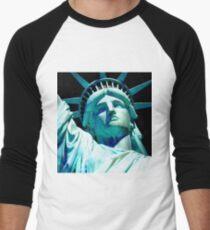 STATUE OF LIBERTY 4 Men's Baseball ¾ T-Shirt