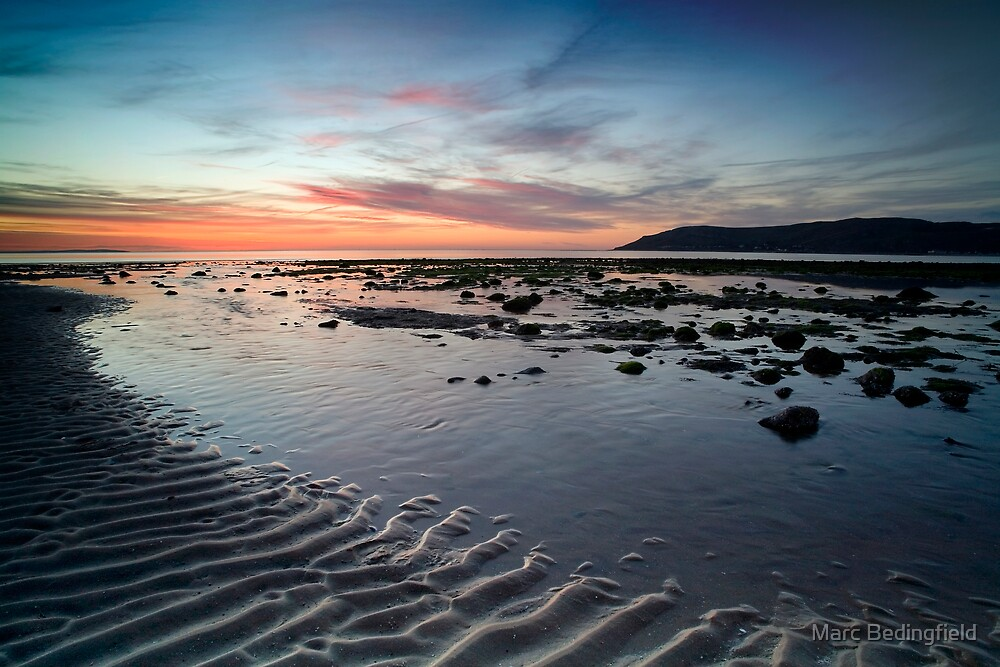 Conwy Sands by Marc Bedingfield