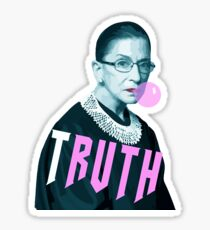 Ruth Bader Ginsburg TRUTH  Sticker