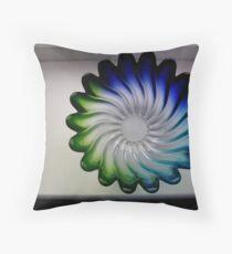 glass dish Throw Pillow