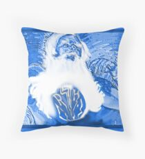 Super Hero  Dreams of Aging (Revised) Throw Pillow
