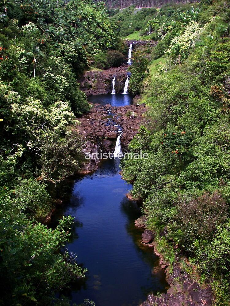 Umauma Falls by artistfemale