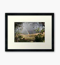 Rainbow Frame Framed Print
