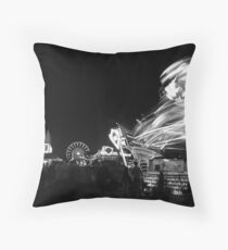 Milling About Throw Pillow
