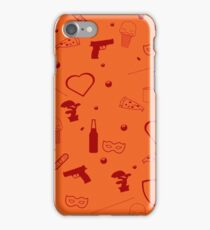 Sanvers |Sawyer and Danvers| pattern - red  iPhone Case/Skin