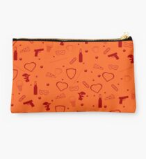 Sanvers |Sawyer and Danvers| pattern - red  Studio Pouch
