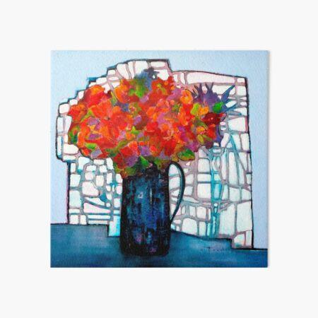 Bouquet Art Board Print