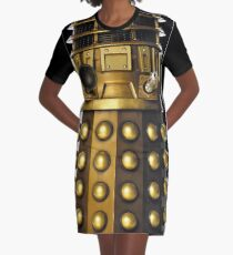 Dalek-table  Graphic T-Shirt Dress