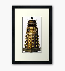 Dalek-table  Framed Print