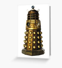 Dalek-table  Greeting Card