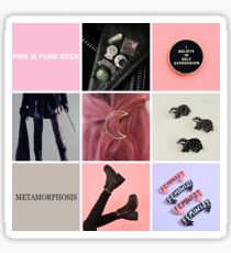 Nymphadora Tonks moodboard Sticker