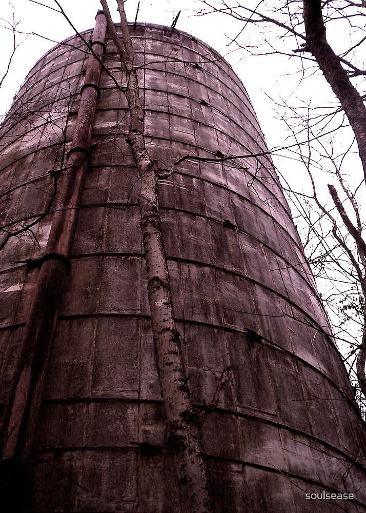 black/white silo by soulsease