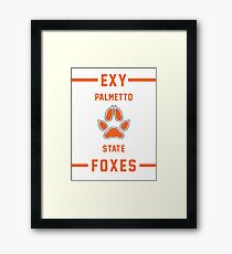 PSU Foxes - Exy Team Framed Print
