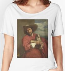 Anthony Van Dyck - Portrait Of Francois Langlois Women's Relaxed Fit T-Shirt
