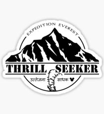 Disney's Expedition Everest - Thrill Seeker Sticker